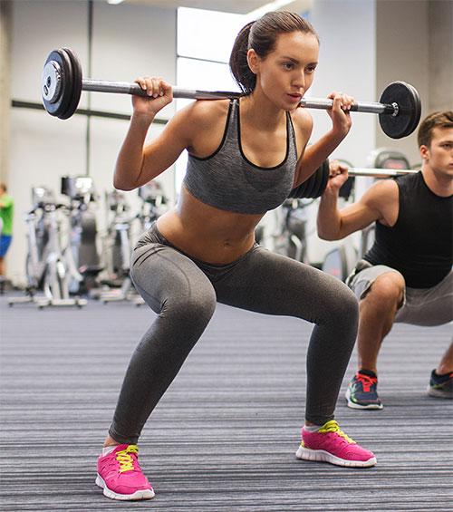 Styrketræning giver øget muskelmasse og former din krop