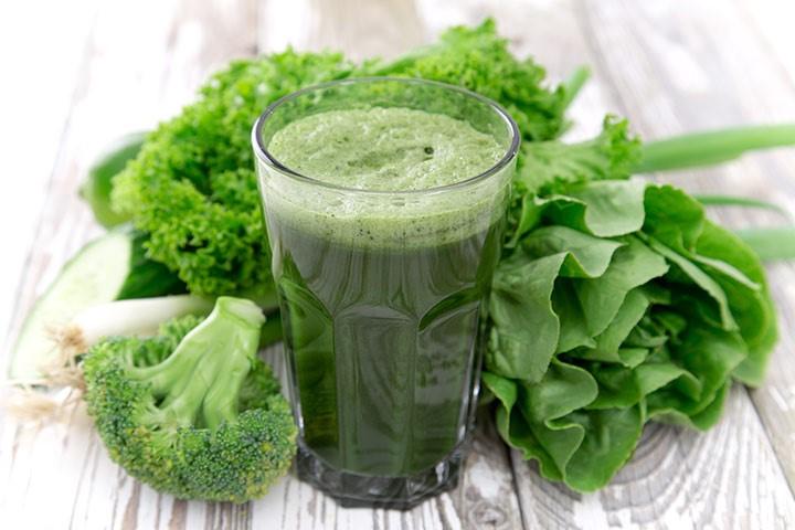 Spinat og grønkålssmoothie
