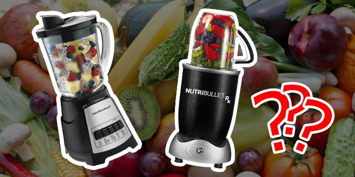 Smoothies maskine: Blender, juicepresser, foodprocessor eller andet?