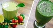 Sunde smoothies med grønkål