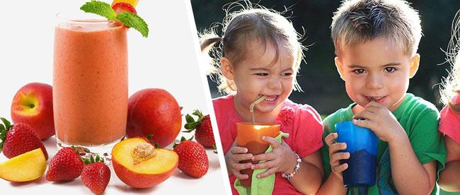 Sunde smoothies til børn og unge