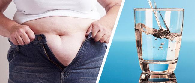 Drik vand før måltider og tab dig (vægttab)